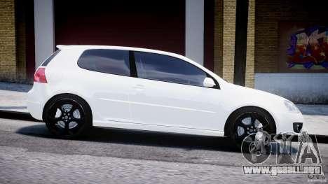 Volkswagen Golf 5 GTI para GTA 4 vista interior