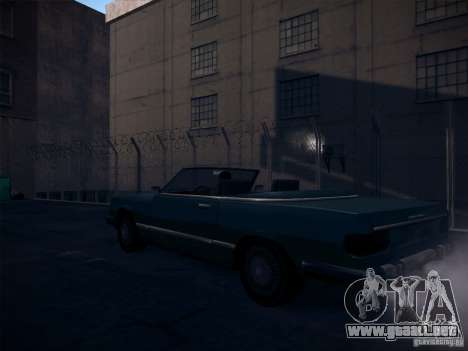 ENBSeries by CatVitalio para GTA San Andreas sucesivamente de pantalla