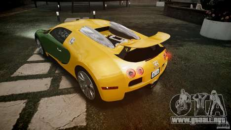 Bugatti Veyron 16.4 v3.0 2005 [EPM] Machiavelli para GTA 4 vista desde abajo