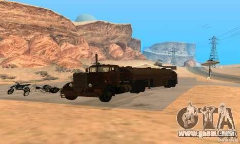 Duel Peterbilt para la visión correcta GTA San Andreas