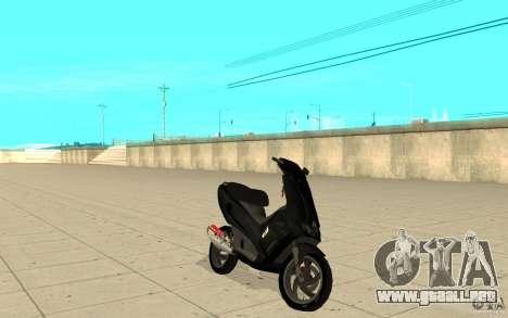 Gilera Runner 50SP Skin 2 para GTA San Andreas