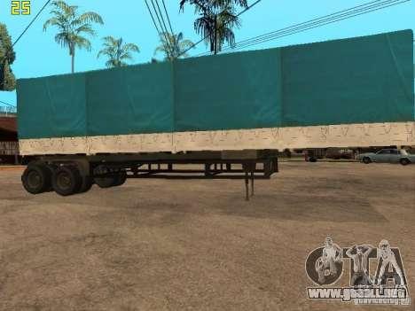 NEFAZ 93344 trailer para GTA San Andreas left