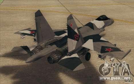 Su-35 BM v2.0 para la visión correcta GTA San Andreas