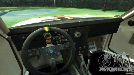 Audi Quattro Group B para GTA 4 vista hacia atrás