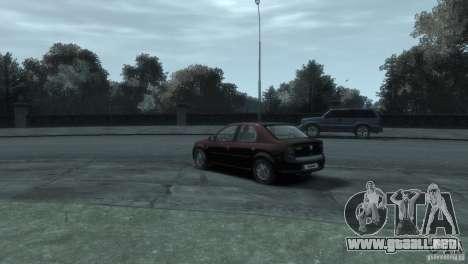 RENAULT LOGAN para GTA 4 Vista posterior izquierda