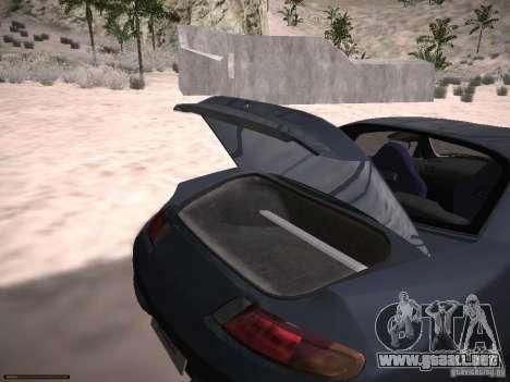 Mitsubishi FTO GP Veilside para vista lateral GTA San Andreas