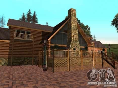 Nueva villa de CJ para GTA San Andreas tercera pantalla