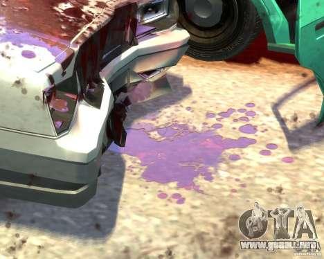 Blood Tweak 1.0 para GTA 4 décima de pantalla