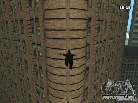 Parkour Mod para GTA San Andreas sexta pantalla