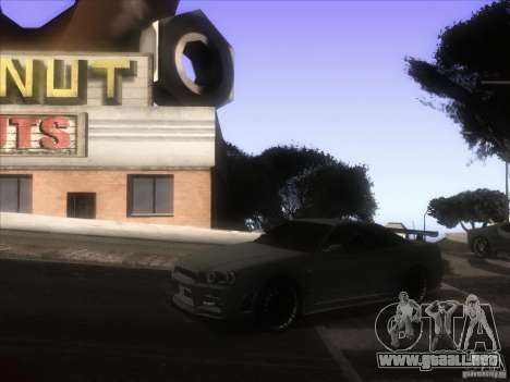 ENB de GTA IV para GTA San Andreas quinta pantalla