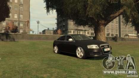 Audi RS6 v.1.1 para GTA 4 visión correcta