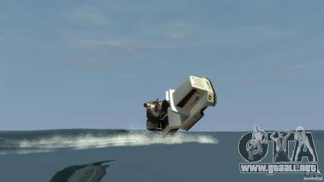 Airtug boat para GTA 4 visión correcta
