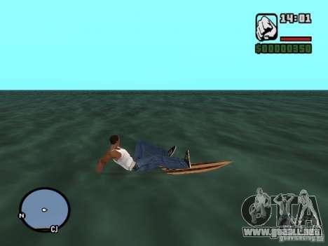 Cerf para GTA San Andreas sucesivamente de pantalla