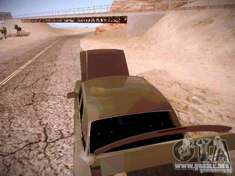 GAS-31025 para visión interna GTA San Andreas