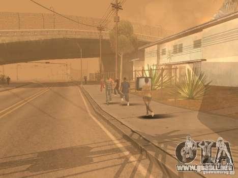 Terremoto para GTA San Andreas octavo de pantalla