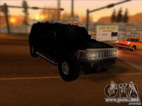 Hummer H3 para GTA San Andreas left