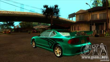 Oldsmobile Alero 2003 para vista inferior GTA San Andreas