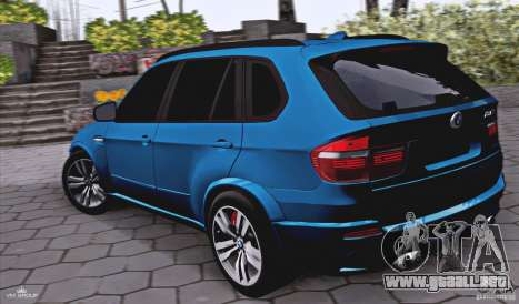BMW X5M 2013 v1.0 para GTA San Andreas left
