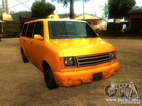 Taxi Moonbeam para GTA San Andreas