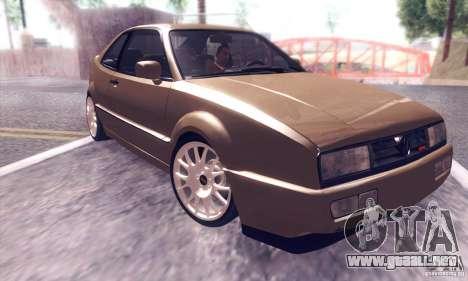 Volkswagen Corrado para visión interna GTA San Andreas