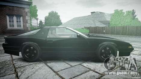 Ruiner KNIGHT RIDER Skin para GTA 4 vista interior