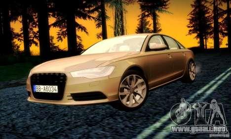 Audi A6 2012 para el motor de GTA San Andreas