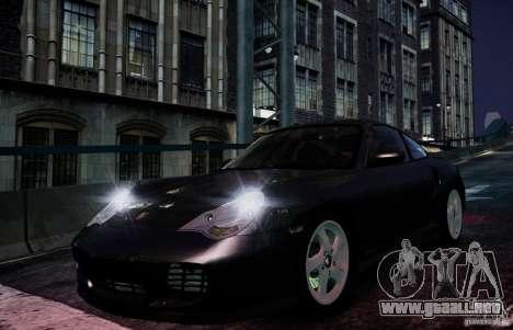 Porsche 911 Turbo S para GTA 4 vista interior