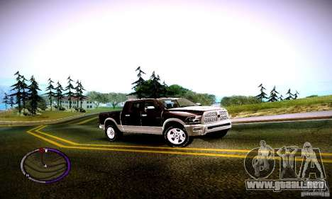 Dodge Ram para GTA San Andreas left