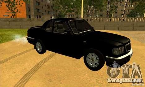 Volga GAZ 3110 sedán para GTA San Andreas left