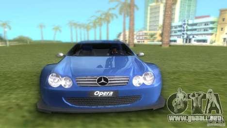 Mercedes-Benz CLK500 C209 para GTA Vice City visión correcta
