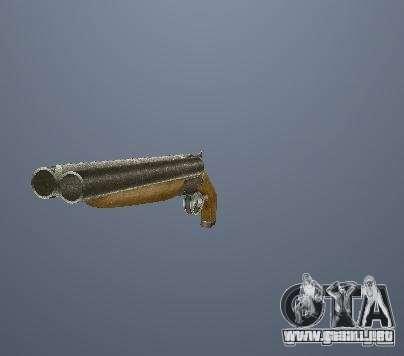 Pak altas armas poligonales para GTA San Andreas sucesivamente de pantalla