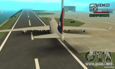 GTA 4 aeronaves Boeing 747 para la visión correcta GTA San Andreas