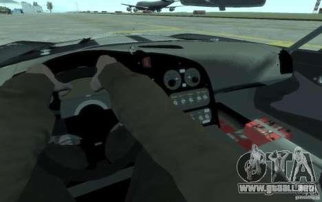 Dodge Viper Competition Coupe para GTA 4 vista hacia atrás