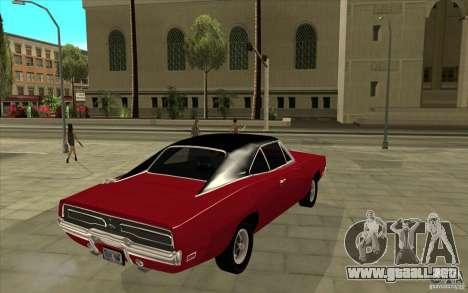 Dodge Charger R/T 1969 para la visión correcta GTA San Andreas