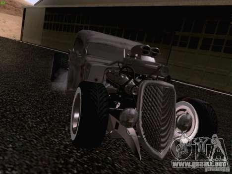 Ford Pickup Ratrod 1936 para la visión correcta GTA San Andreas