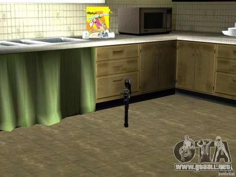 Pak versión doméstica armas 2 para GTA San Andreas sexta pantalla