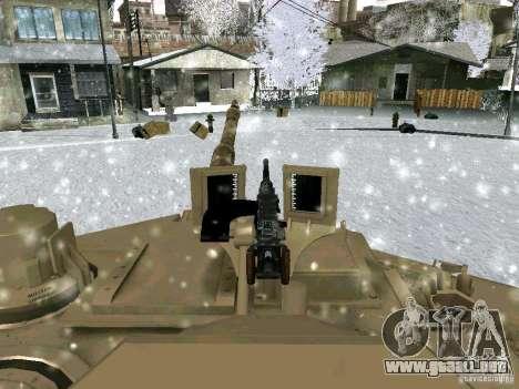 M1A2 Abrams de Battlefield 3 para vista lateral GTA San Andreas
