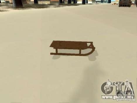 Trineo v1 para la visión correcta GTA San Andreas
