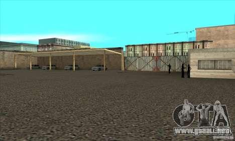 Renovación de autoescuelas en San Fierro para GTA San Andreas sucesivamente de pantalla