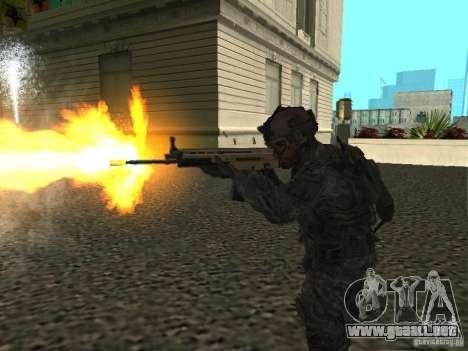 USA Army Ranger para GTA San Andreas tercera pantalla