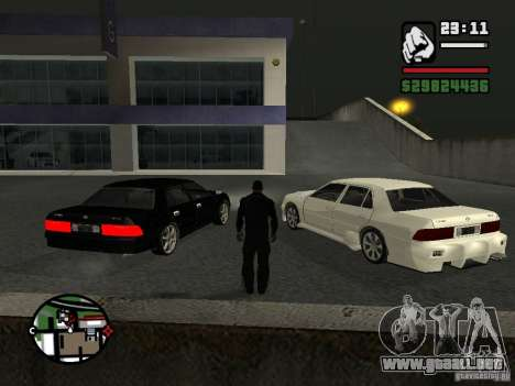 Toyota Crown Tunable para GTA San Andreas left