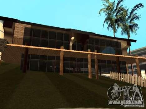 Villa en San Fierro para GTA San Andreas novena de pantalla