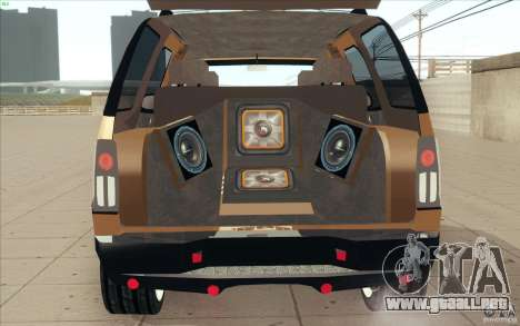 Cadillac Escalade 2004 para visión interna GTA San Andreas