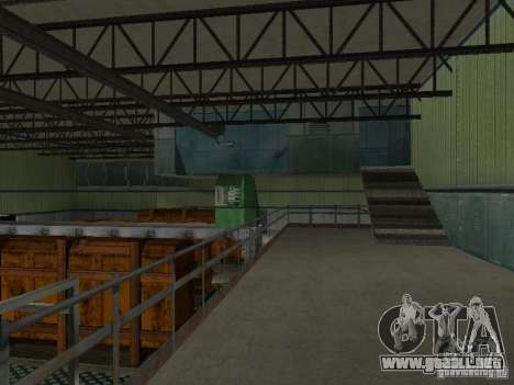 Zona abierta 69 para GTA San Andreas segunda pantalla