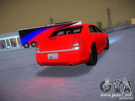 Chrysler 300C SRT8 2011 para visión interna GTA San Andreas