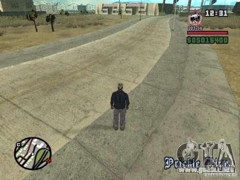 Todas Ruas v3.0 (Las Venturas) para GTA San Andreas quinta pantalla