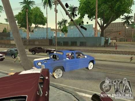 Ballas 4 Life para GTA San Andreas sucesivamente de pantalla