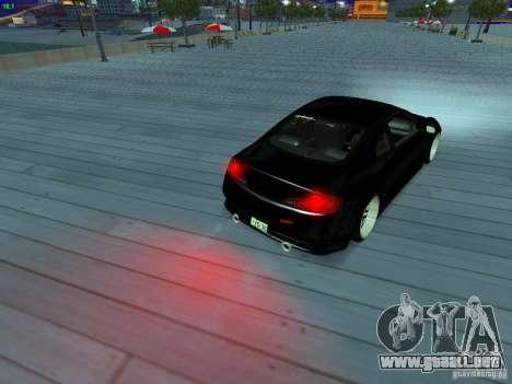 Infiniti G35 V.I.P para el motor de GTA San Andreas