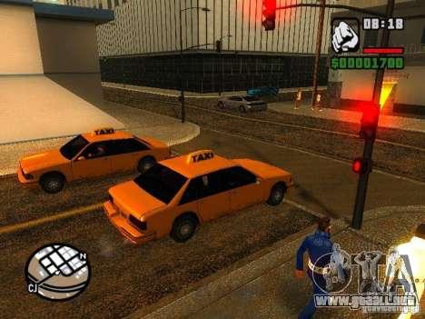 Tormenta de arena para GTA San Andreas segunda pantalla