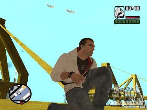 Desmond Miles para GTA San Andreas octavo de pantalla